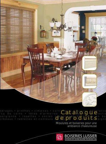 Catalogue de produits - Vuzit