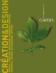 profil, finition, moul ure, p anneau central essence ... - Caron Industries