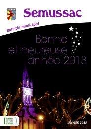 Bulletin Semussac janvier09 - Réseau des Communes