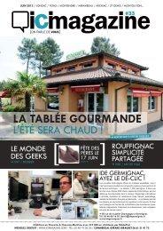 LA TABLÉE GOURMANDE - ICI Magazine
