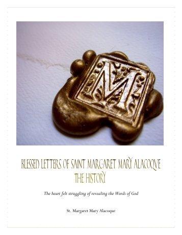 St Margaret Mary Alacoque - Letters (PDF) - Saints' Books
