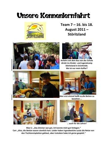 16. bis 18. August 2011 - Anna - Seghers - Schule