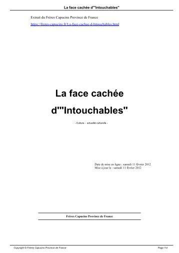 """La face cachée d'""""Intouchables"""" - Frères Capucins Province de France"""