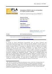 Date submitted: 17/07/2009 1 Introduction à FRSAD et mise en ...