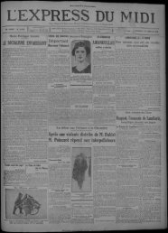 30 janvier 1929 - Bibliothèque de Toulouse