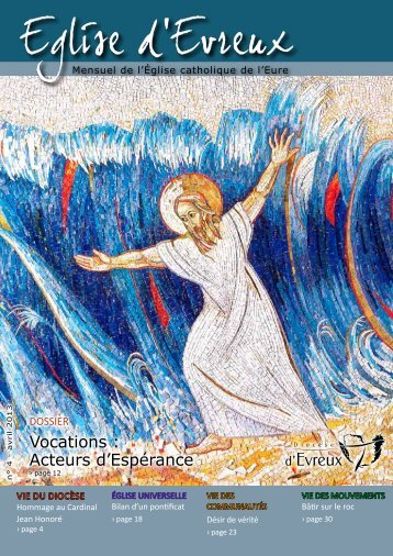 N° 4 - avril 2013 - Diocèse d'Evreux