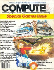 Compute! The Journal of Progressive Computing - Commodore.ca