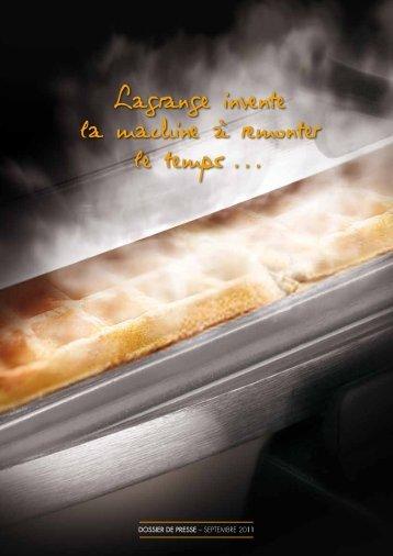 Lagrange invente la machine à remonter le temps...