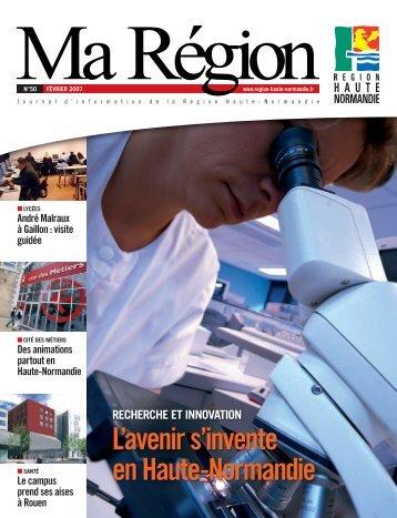 L'avenir s'invente en Haute-Normandie - Région Haute Normandie