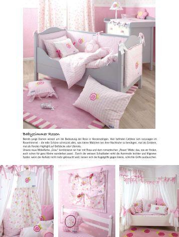 4 bettw sche barock rosa - Babyzimmer barock ...