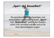 Gesundheit - Anne-Frank-Realschule plus Montabaur / Westerwald