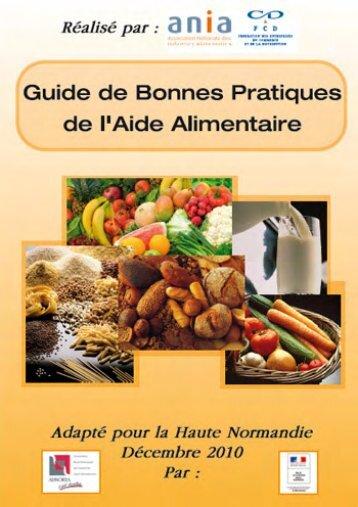 Guide des bonnes pratiques alimentaires - Portail public de l ...