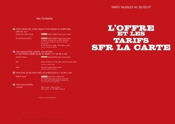 SFR La Carte