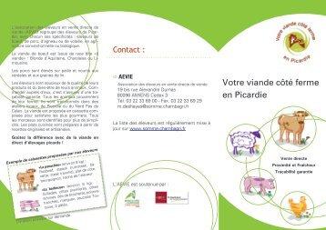La plaquette l 39 agriculture biologique en normandie - Chambre d agriculture de picardie ...