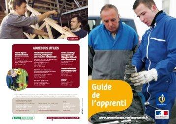 Guide de l'apprenti - Site d'Information sur l'Orientation des CIO du ...
