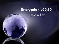 Encryption v20.10 - SANS Computer Forensics