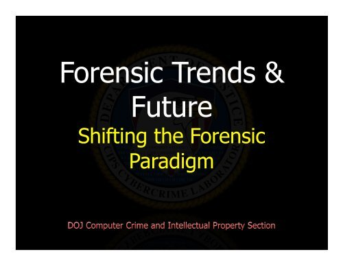 Ovie Carroll - SANS Forensic Trends and Futures.pdf
