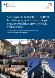 5 ans après la CHARTE DE LEIPZIG - Nationale ...