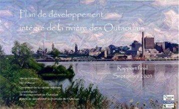 Plan de développement intégré de la rivière des Outaouais - rapport ...