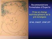 Prise en charge multidisciplinaire de la pré-éclampsie ... - Périnatalité