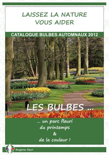 Cataloque bulbes automnaux 2012 - Brageirac Fleuri