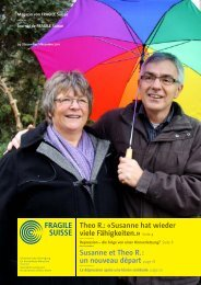 Magazin von FRAGILE Suisse