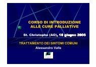corso di introduzione alle cure palliative - Azienda USL Valle d'Aosta
