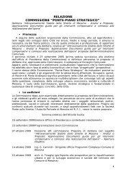 BOZZA RELAZIONE - Comune di Messina
