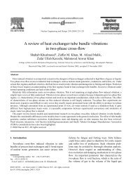A review of heat exchanger tube bundle vibrations in two-phase ...