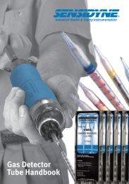 Download Sensidyne Gas Detector Tube Manual