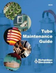 Tube Maintenance Guide - Richardson Electronics
