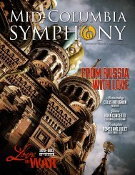 From russia with Love - Mid-Columbia Symphony Orchestra