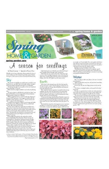 4/8/10 Spring Home & Garden - Pioneer Press Communities Online