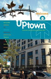 Uptown Community Guide 2007 - Pioneer Press Communities Online