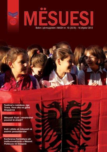 Shkarko Revistën - Ministria e Arsimit dhe Shkencës