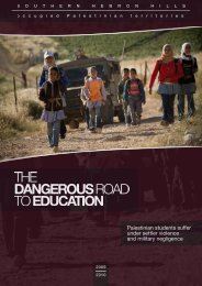 The Dangerous Road to Education - Christian Peacemaker Teams