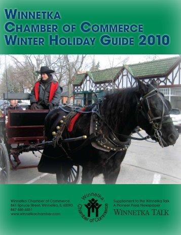 winnetka chamber of commerce winter holiday guide 2010 winnetka ...