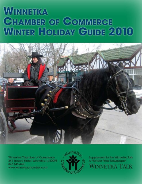 winnetka chamber of commerce winter holiday guide 2010 winnetka ...