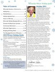 winnetka chamber of commerce winter holiday guide 2010 winnetka ... - Page 3