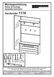 Garderobe 1116