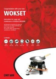 Hot Wok Manual - Eurocosm