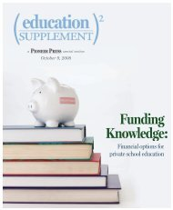 education supplement 2008 - Pioneer Press Communities Online