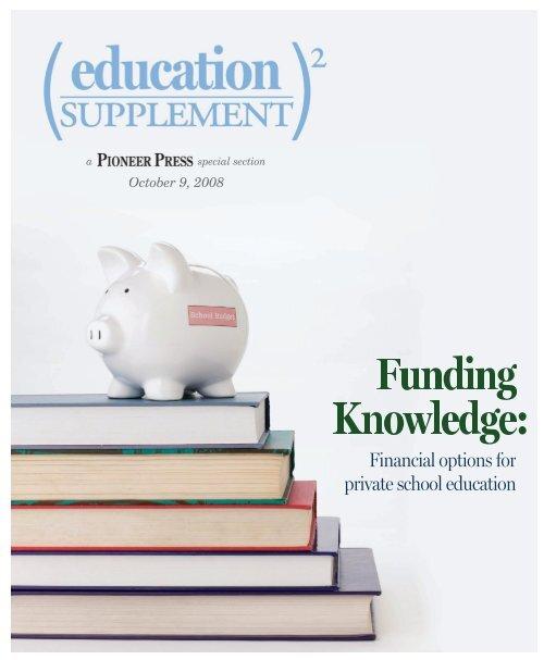education supplement 2008 - Pioneer Press Communities Online