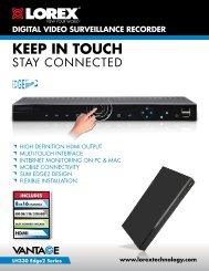 LH330 EDGE2 Series Security DVR - Lorex