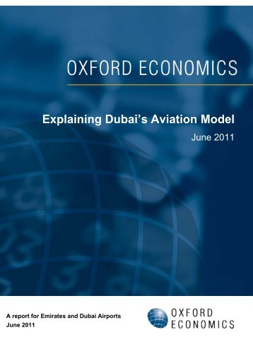 Explaining Dubai's Aviation Model - Dubai International Airport