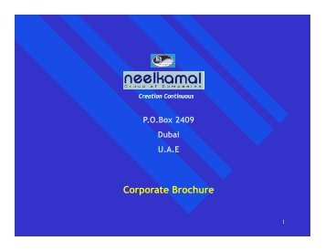 Download Brochure - Neelkamal Group