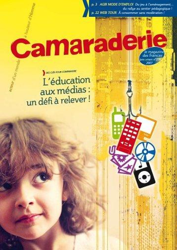 Camaraderie n°276.pdf - Portail éducation - les Francas