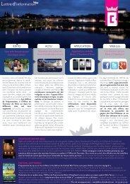 Lettre d'information - Office du tourisme Blois   Chambord