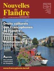 Droits culturels des Francophones de Flandre ... - Francophonie