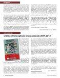Droits culturels des Francophones de Flandre ... - Francophonie - Page 6
